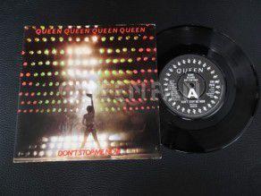"""7"""" Vinyl single Queen Don't stop me now (UK) Demo"""