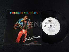 "7"" Vinyl single Freddie Mercury Made in heaven (Australia) Promo (Queen)"