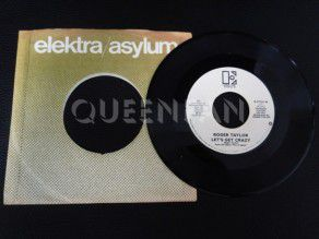 "7"" Vinyl single Roger Taylor Let's get crazy (USA) Promo Label 1 (Queen)"