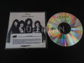 Cd Single Queen Bohemian Rhapsody (UK) Promo