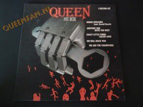 Queen Hit box 4 record set (Holland)