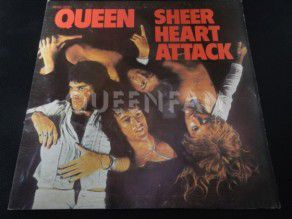 "12"" Vinyl album Queen Sheer heart attack (France)"