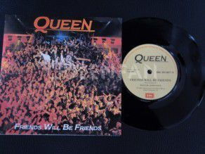 "7"" Vinyl single Queen Friends will be friends (South Africa)"
