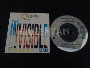 "Cd Single 3"" Queen The invisible man (Austria)"