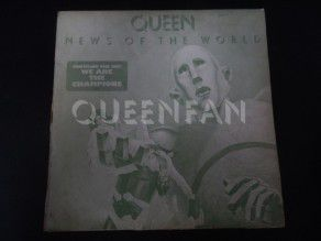 "12"" Vinyl album Queen News of the world (Korea) Light green sleeve"