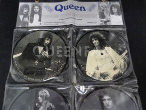 Vinyl Queen interview and press conferences (UK) 4 black vinyl discs