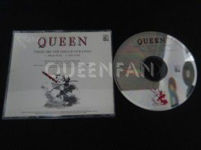 Cd single Queen These are the days of our lives (USA) Promo