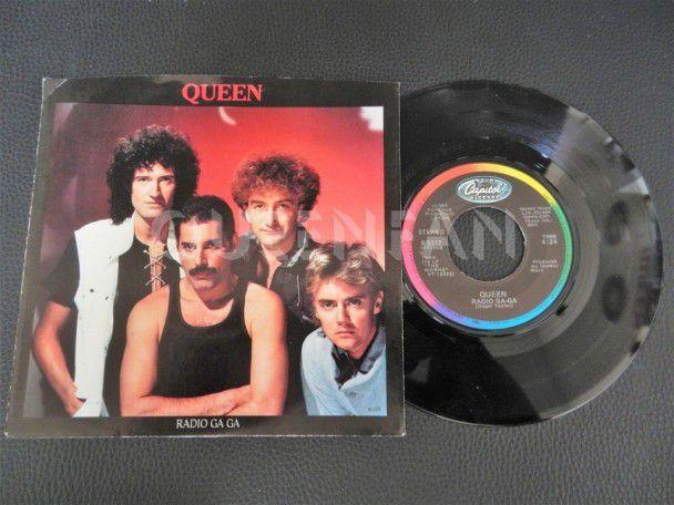 """7"""" Queen Radio ga ga (USA)"""