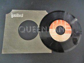 "7"" Vinyl single Queen Another one bites the dust (Jamaica) Orange label"