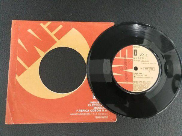 """7"""" Vinyl single Queen Jealousy (Brazil)"""