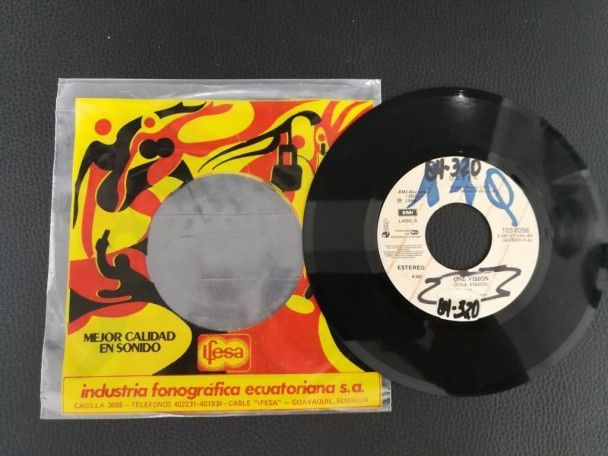 "7"" Vinyl single Queen One vision (Ecuador) Promo"