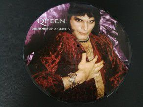"12"" Vinyl album Queen Memoirs Of A Geisha (UK) Picture Disc"