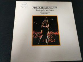 "12"" Vinyl maxi Freddie Mercury Living on my own 1985 (Brazil) (Queen)"