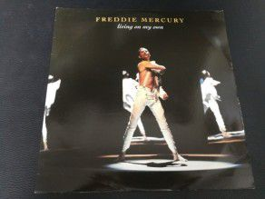 "12"" Freddie Mercury Living on my own 1993 (UK)"
