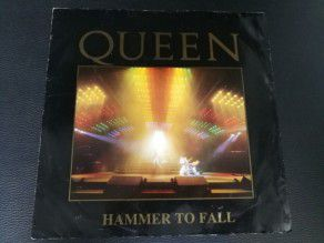 "12"" Vinyl maxi Queen Hammer to fall (UK) Deleted live sleeve"