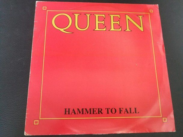 "12"" Vinyl maxi Queen Hammer to fall (Australia)"