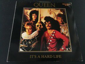 "12"" Vinyl maxi Queen It's a hard life (Germany)"