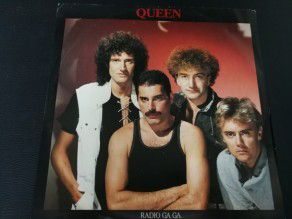 "12"" Vinyl maxi Queen Radio Ga Ga (UK)"