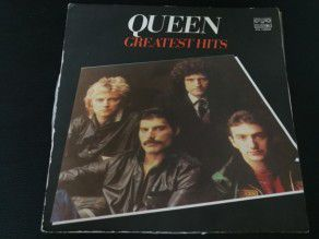 "12"" Vinyl album Queen Greatest hits (Bulgary) Gatefold 2"