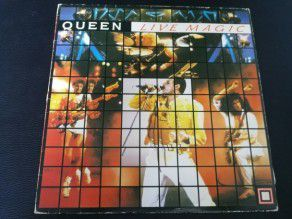 "12"" Vinyl album Queen Live magic (Korea)"