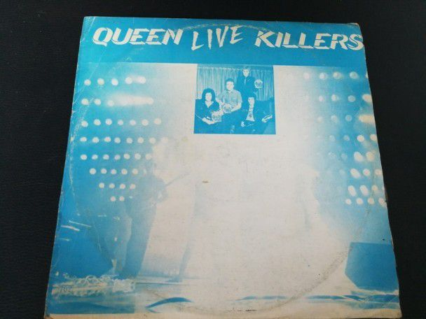 "12"" Vinyl album Queen Live killers (Korea) Blue cover"
