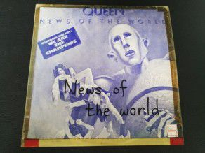 "12"" Vinyl album Queen News of the world (Korea) Blue sleeve"