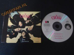 Cd Single The Cross Final Destination (Holland)