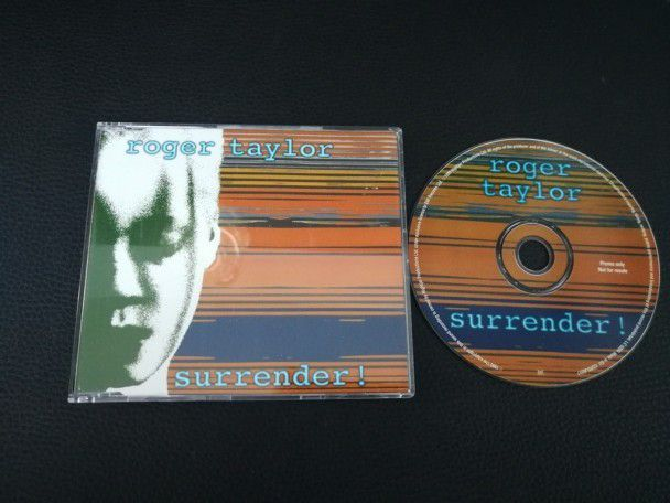 Cd single Roger Taylor Surrender...