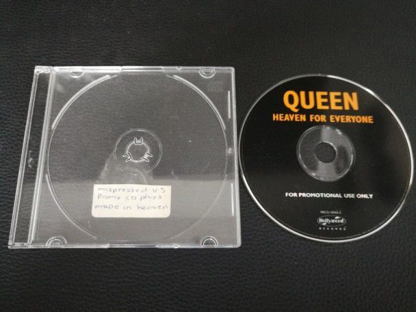 Cd Single Queen Heaven for everyone...