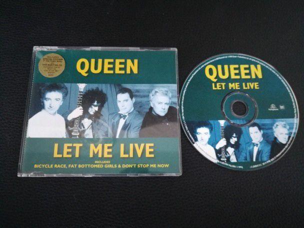 Cd Single Queen Let me live (UK) Green