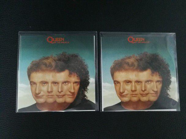 Cd Album Queen The Miracle (UK) 2011...