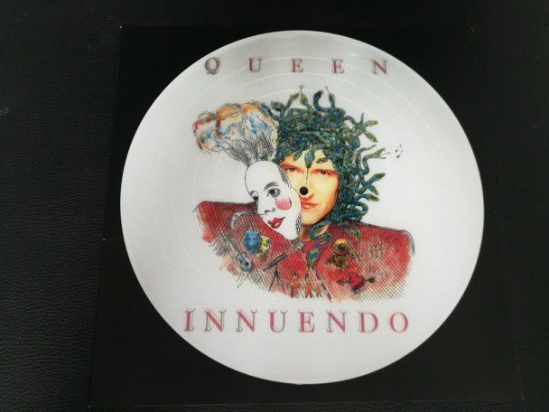 "12"" Vinyl album Queen Innuendo Brian..."