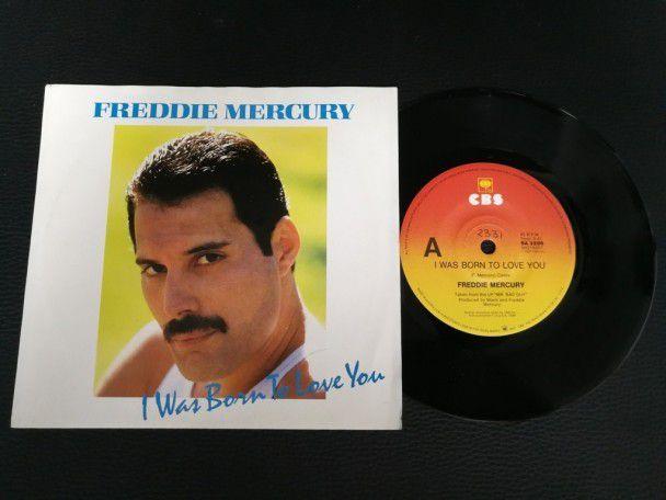 "7"" Vinyl single Freddie Mercury I was..."