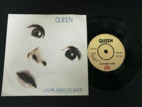 """7"""" Vinyl single Queen Las..."""