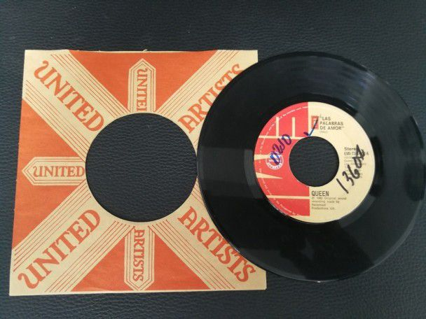 """7"""" Vinyl single Queen Las palabras de..."""