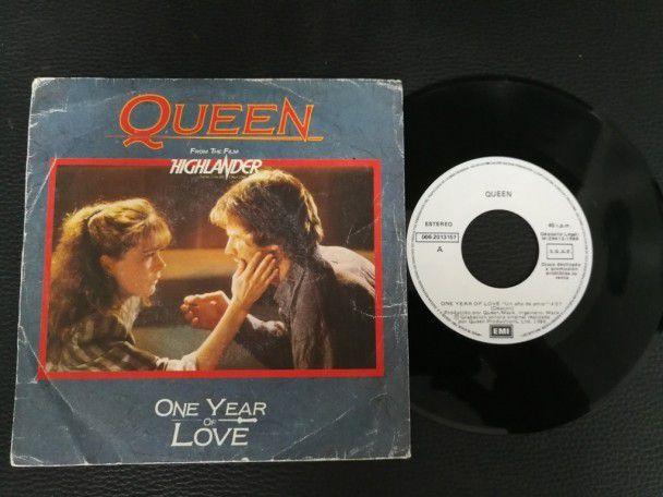 """7"""" Vinyl single Queen One year of..."""