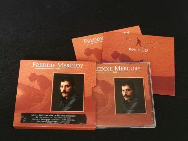 Cd Album Freddie Mercury Solo 3-Cd...