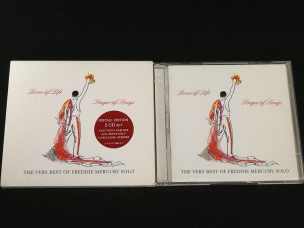 Cd Album Freddie Mercury Lover of...