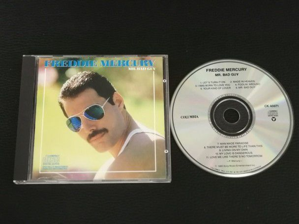Cd Album Freddie Mercury Mr Bad Guy...