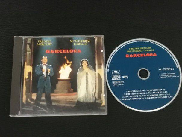 Cd Album Freddie Mercury Barcelona...