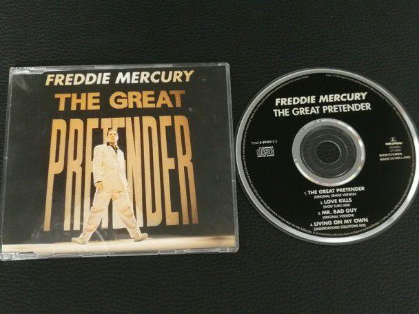 Cd Single Freddie Mercury The great...