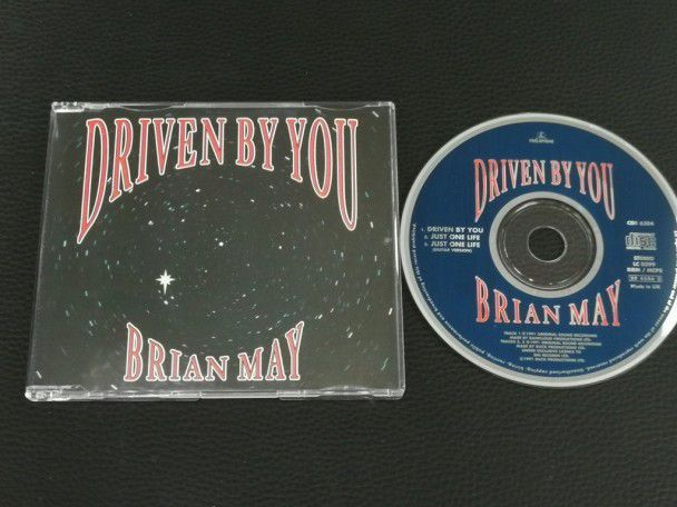 Cd Single Brian May Driven by you...