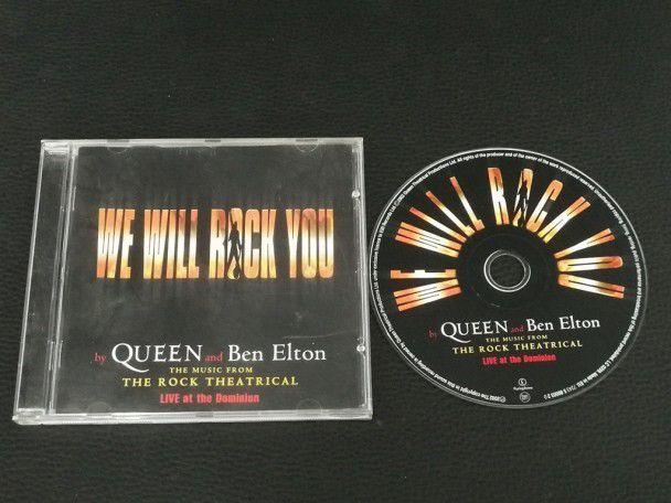 Cd Album Queen We Will Rock You (UK)...