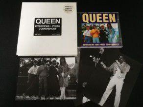 Cd Album Queen interviews +...