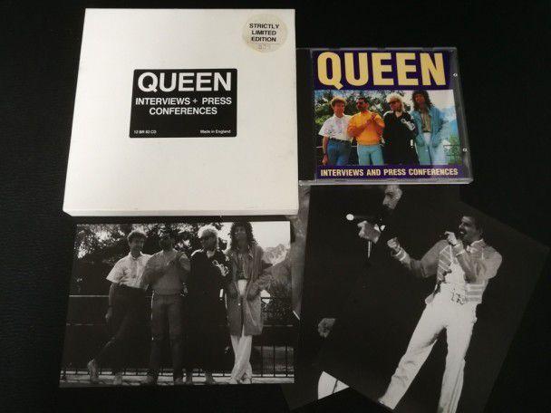 Cd Album Queen interviews + press...