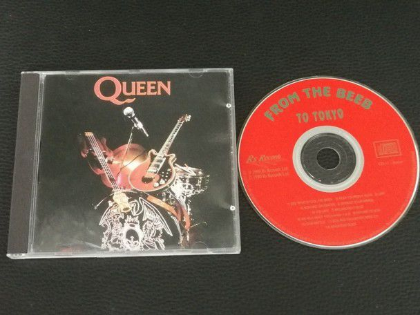 Cd Album Queen From the beeb to Tokyo...