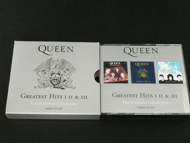 Cd Album Queen Greatest hits I, II...