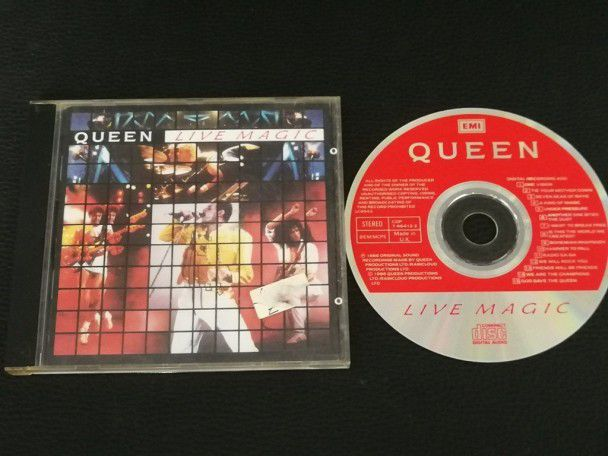 Cd Album Queen Live magic (UK) 1986