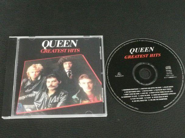 Cd Album Queen Greatest hits I...