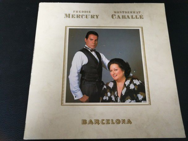 "12"" Vinyl album Freddie Mercury Barcelona (Spain) (Queen)"